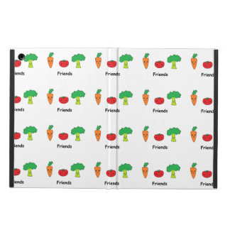 Happy Vegetable Friends Cover For iPad Air