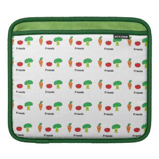 Happy Vegetable Friends iPad Sleeves