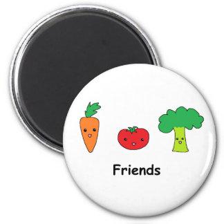 Happy Vegetable Friends Magnet