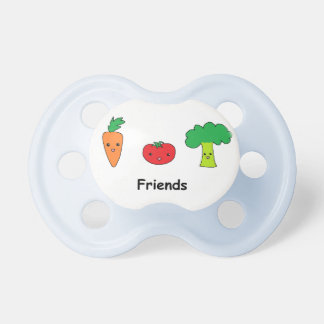 Happy Vegetable Friends Pacifier