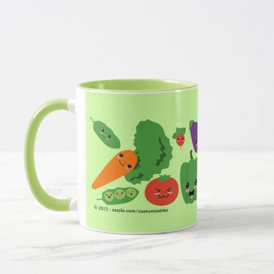 Happy Veggies Mug