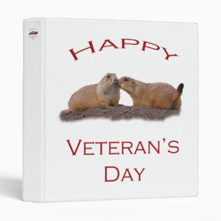 Happy Veteran's Day Binders