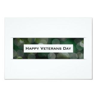 Happy Veterans Day (bokeh) Card