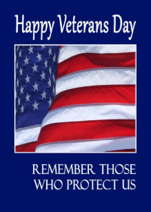 Happy veterans day cards zazzle happy veterans day greeting card american flag m4hsunfo