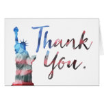 Happy Veterans Day (liberty thank you) Card