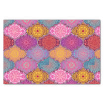 Happy Vibrant Tribal Bohemian Tissue Paper