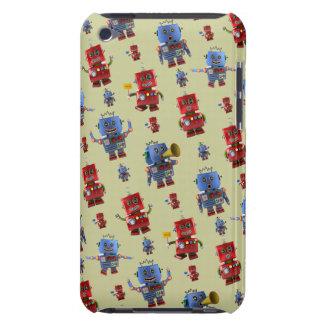 Happy vintage robot pattern Case-Mate iPod touch case