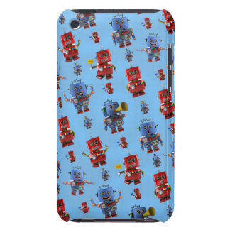 Happy vintage robot pattern iPod touch cover