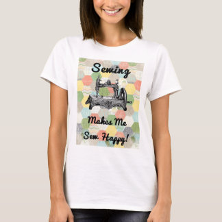 Happy Vintage Sewing T-Shirt