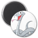 Happy Viper Fridge Magnet