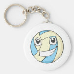 Happy Volleyball Key Chains