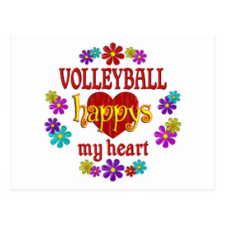 Happy Volleyball Postcards