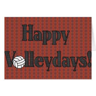 Happy Volleydays! Card