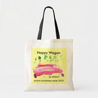 Happy Wagon by MAXarT Tote Bag