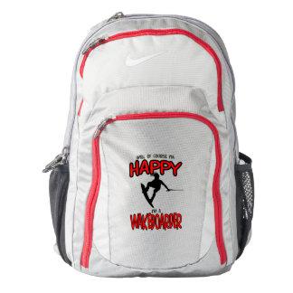 HAPPY WAKEBOARDER (black) Nike Backpack
