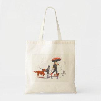 Happy walk budget tote bag