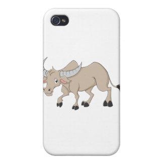 Happy Water Buffalo Cartoon iPhone 4 Cover