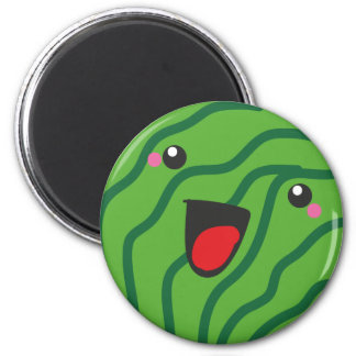 happy watermelon magnet