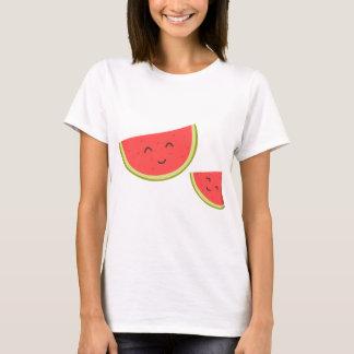 Happy Watermelon Women's Basic T-Shirt