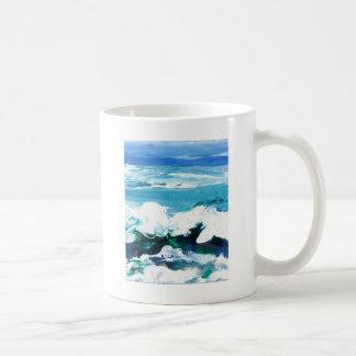 Happy Wave Ocean Art Gifts Cricketdiane Coffee Mug