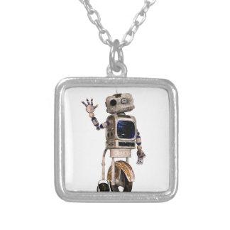 Happy Waving Robot Custom Jewelry