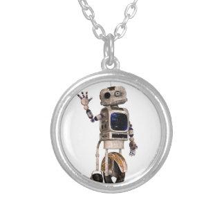Happy Waving Robot Jewelry