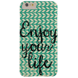 Happy way to live barely there iPhone 6 plus case