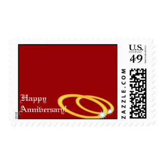 Happy Wedding Anniversary-Customize Stamp