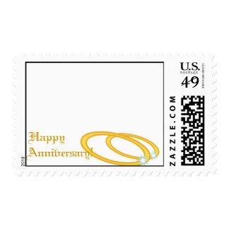 Happy Wedding Anniversary-Customize Postage