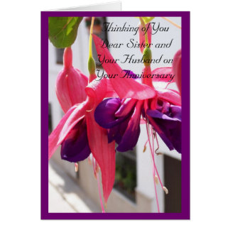 Sister And Husband Wedding Anniversary Gifts on Zazzle
