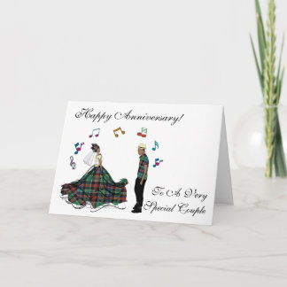 Happy Wedding Anniversary To Special Couple Card