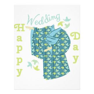 Happy Wedding Day Letterhead