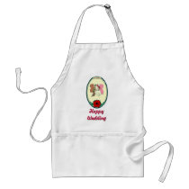 Happy Wedding - Fairy couple Adult Apron