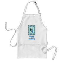 Happy Wedding - Japanese couple Adult Apron