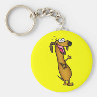 Happy Weenie Keychain