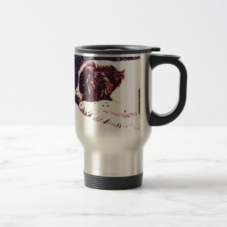 happy Welshie holidays Travel Mug