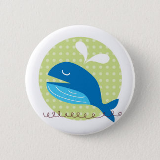 Happy Whale Button