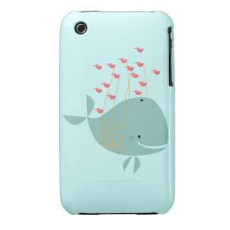 Happy Whale iPhone 3 Cases