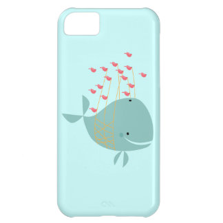 Happy Whale Case For iPhone 5C