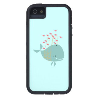 Happy Whale iPhone 5 Case