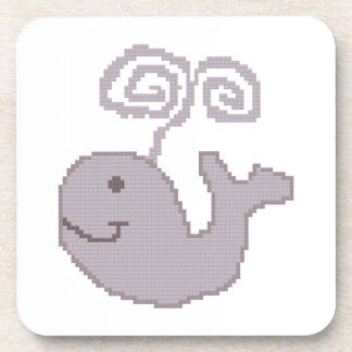 Happy Whale Coasters