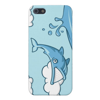 Happy Whale Cases For iPhone 5