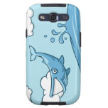 Happy Whale Samsung Galaxy S3 Cover