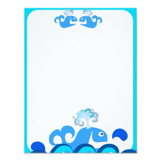 Happy Whale Stationery! Card