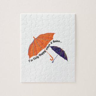 Happy When it Rains Puzzle