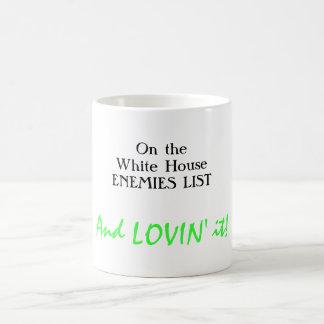 Happy White House enemy Classic White Coffee Mug