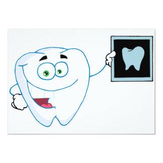 Happy White Tooth Invitations