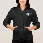 Happy White Tooth Womens Jacket