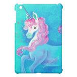Happy White Unicorn iPad Mini Cases