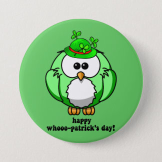 happy whooo patricks day button